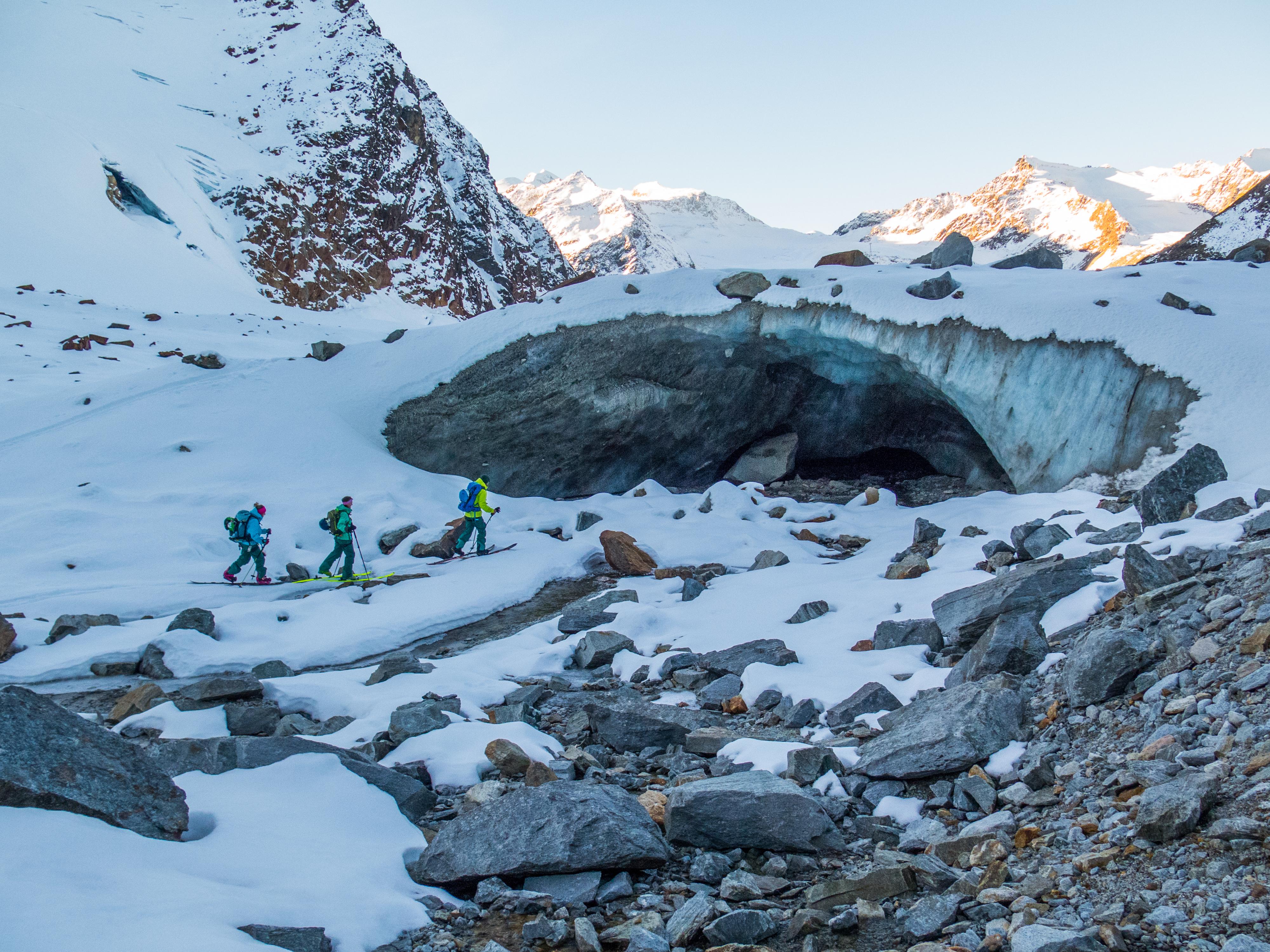 Splitboarden, Snowboard, Touren, Gletsjer